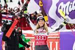 Děkuji! Současné královně alpského lyžování Mikaele Shiffrinové se ve Špindlu líbilo. Přes sociální sítě poslala do světa pochvalu organizátorům a divákům.