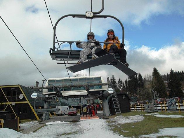 Skiareál - Čertova hora