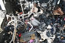 Krejčovskou dílnu zničil oheň