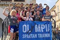 Sobotní sestava Olympia Spartan Training Kutná Hora na Spartan Sprint v Kroměříži.