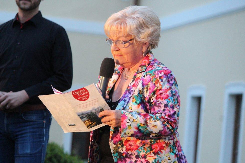 Karolina Hromádková, ředitelka festivalu.