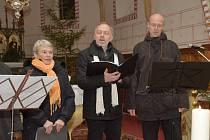 Adventní koncert se konal v Bohdanči.