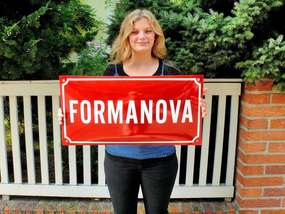Přejmenování čáslavské ulice J. Spudila na ulici Formanovu