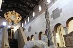 V kostele Santa Maria in Cosmedin v Římě.