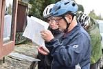 Závodníci měli možnost vyzkoušet si Havířský cykloorienťák.
