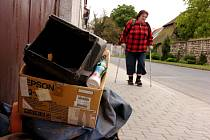 Velkoobjemový odpad mizí ze sedleckých ulic letos pomaleji