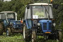 Ze 6. ročníku Zdeslavické traktoriády.