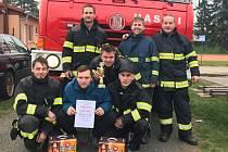 Dobrovolní hasiči z Dolních Bučic.