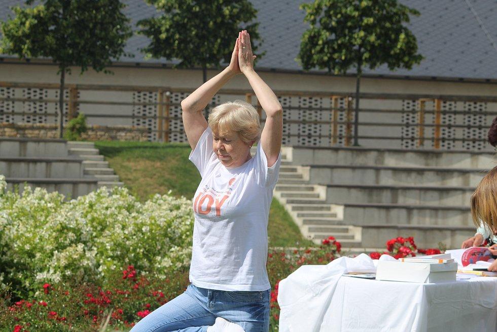 Mezinárodní den jógy dnes oslavili v Kutné Hoře.