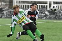 Fotbal (příprava): Bohemians Praha - Čáslav 2:1, středa 21. ledna 2009