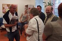 Michal Horáček navštívil Oblastní charitu Kutná Hora