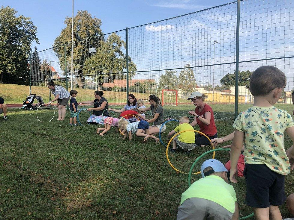 Ze cvičení kutnohorských sokolů před koronavirovou pandemií.