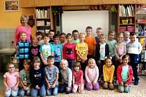 Naši prvňáci: Škola T. G. Masaryka přivítala 56 nových prvňáčků.