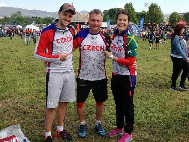 Martina Fabiánová a Michal Pavlík závodili na Spartan Race SPRINT v Nitře.