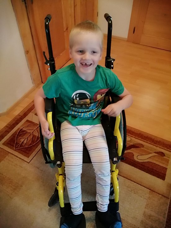 Dominik z Čáslavi trpí vážným neurologickým onemocněním.
