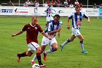 2. kolo ČFL: Čáslav - Sparta Praha B 1:2, 18. srpna 2013.