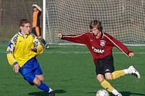 Fotbal KP dorostu: K. Hora - AFK Kolín 7:0, neděle 15. listopadu 2009