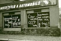 Srpen 1968 v Kutné Hoře.