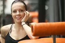 Osobní trenérka fitness Michaela Kudrnová.