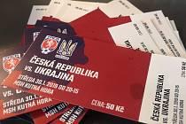 Vstupenky na mezinárodní futsalové utkání Česká republika - Ukrajina v Kutné Hoře.