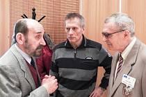 Veterán třetího odboje Vladimír Hučín byl čestným hostem čáslavského kolokvia