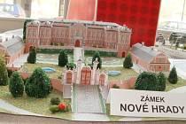 Výstava modelů hradů a zámků