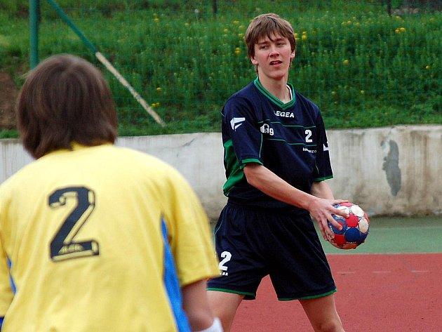 13. kolo házenkářské 2. ligy mladšího dorostu: Kutná Hora - Zruč n. Sázavou, 2. května 2010.