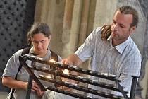 Pietní místo k uctění památky obětí první světové války v kostele sv. Jakuba v Kutné Hoře