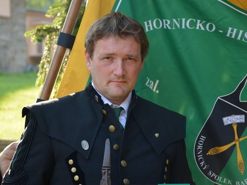 Petr Zeman, jednatel Hornického spolku Barbora v Kutné Hoře.