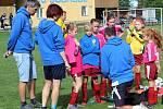 Fotbalový mistrovský turnaj starších přípravek v Suchdole: FK Čáslav D - TJ Sokol Družba Suchdol 10:3.