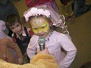 Karneval v Rodinném centru Špalíček 27. ledna 2013.