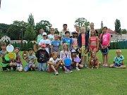 Na kutnohorské plovárně si děti užily příměstský tábor.