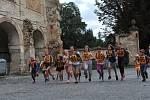 V Ratajích nad Sázavou běželi na Kamenný stůl.