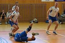 Volejbalové utkání Zruč - Malšovice.