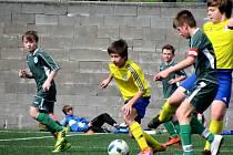 Fotbalový okresní přebor mladších žáků: FK Čáslav D - FK Kavalier Sázava 8:1 (4:0).