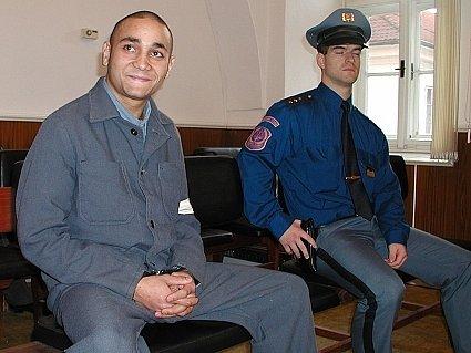 Martin Hlaváček v soudní síni.