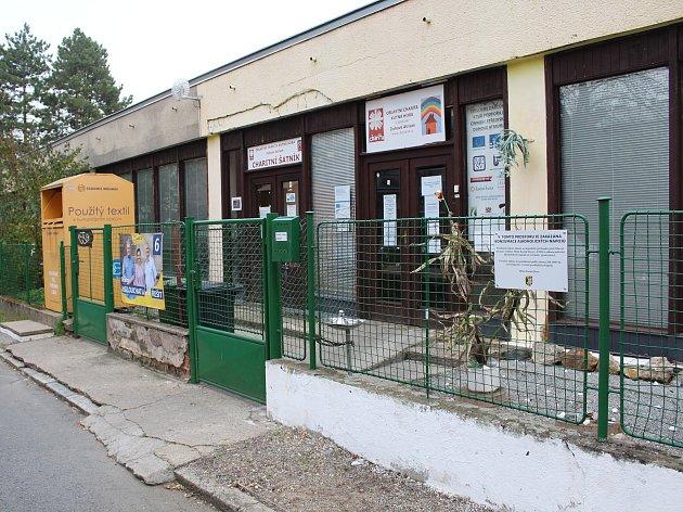 Sídlo charity v Trebišovské ulici v Kutné Hoře.