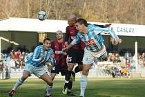 Fotbal, Čáslav - Opava, 15. kolo, 2:1.