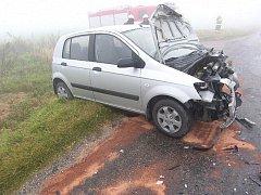 Dopravní nehoda 13. října 2010 na Uhlířskojanovicku.