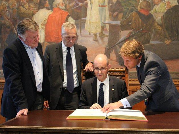 Christoph Israng se sešel s Josefem Viktorou a Karlem Koubským.