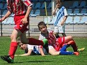 Okresní přebor starších přípravek, sobota 3. června 2017, turnaj v Čáslavi: FK Čáslav – Sparta Kutná Hora 1:6.