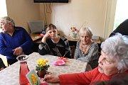 V Klubu důchodců oslavili Mezinárodní den žen.