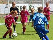 Z okresního turnaje mladších přípravek v Kutné Hoře.
