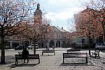 Palackého náměstí v Kutné Hoře.