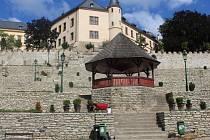 Park pod Vlašským dvorem, září 2016
