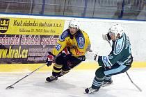 II. liga: Stadion Kutná Hora - HC Milevsko 2010, 9. ledna 2011.