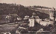 Hrad Pirkštejn v Ratajích nad Sázavou.