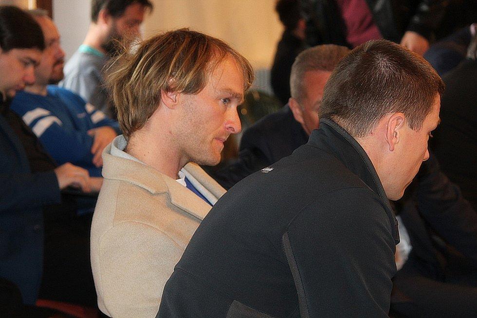 Jakub Vágner na zasedání kutnohorských zastupitelů.