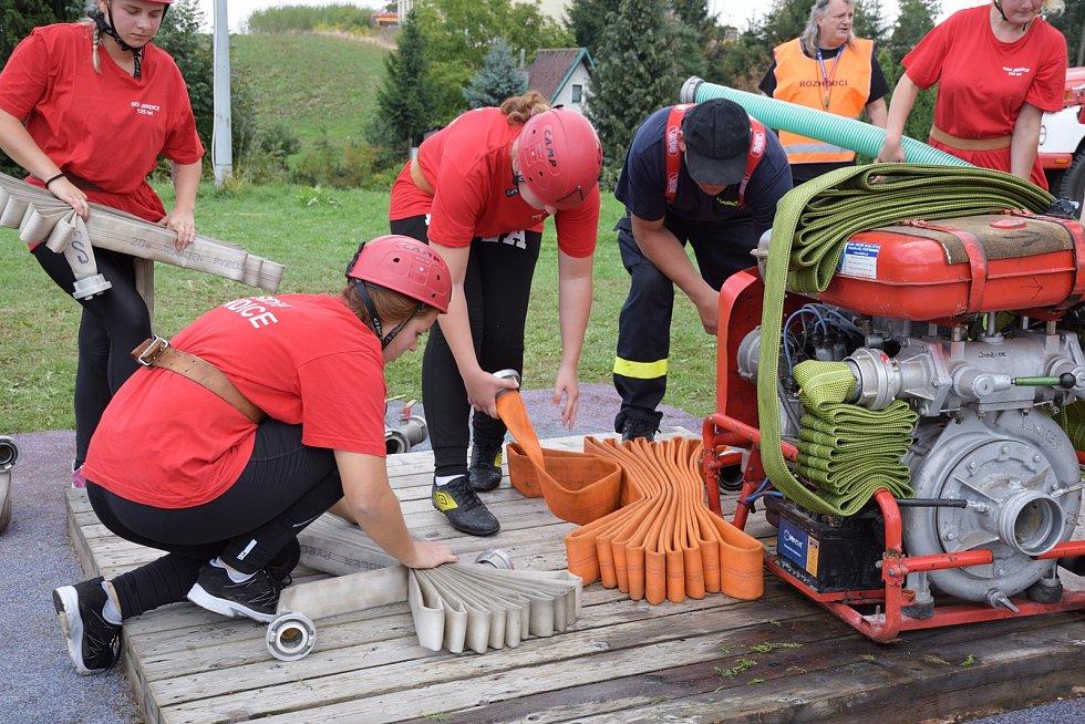 Kutnohorská hasičská liga ve Zbraslavicích.