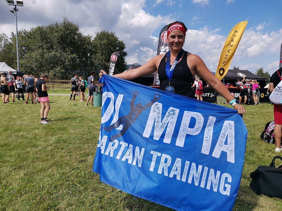 Olympia Spartan Training Kutná Hora v Liberci. Na snímku Kateřina Lebedová.